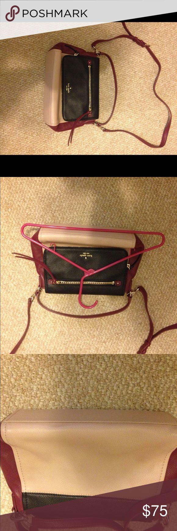 Like new Kate Spate leather crossbody New, pet/smoke free home kate spade Bags Crossbody Bags