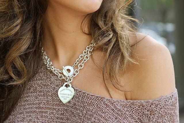 Tiffany Heart Bracelet >> Return to Tiffany Heart Tag Necklace by Tiffany & Co. | Women Accessories | Pinterest