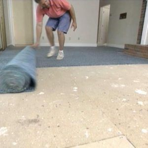 Laying Carpet Tiles On Concrete Floor