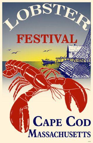 Lobster Festival Cape Cod Masterprint  #JoesCrabShack