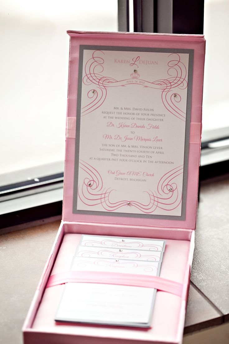 silk box wedding invitations indian%0A Couture Pink Silk Box Invitations and Stationery    LEPENN   DESIGNS  the  blog