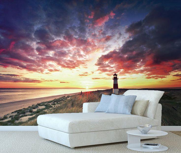 Poster coucher de soleil panoramique