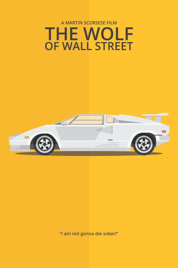 The Wolf of Wall Street (2013) ~ Minimal Movie Poster by George Townley #amusementphile