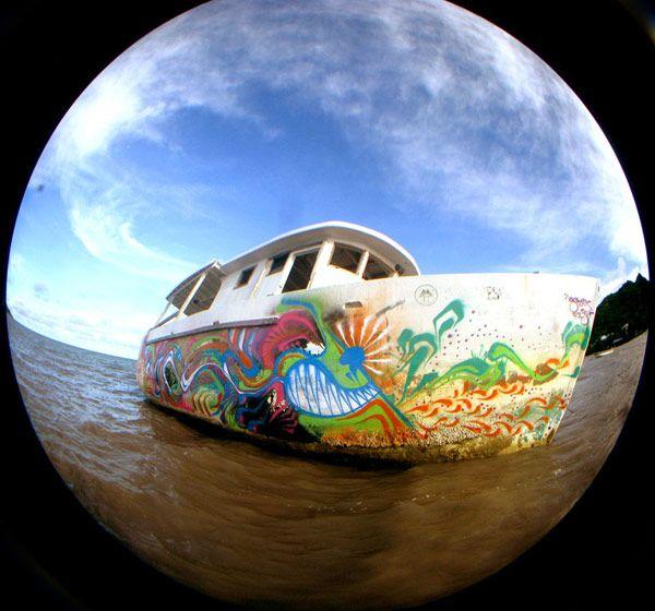 stinkfish | providencia | boat | colombia | south-america