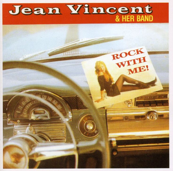 Jean Vincent - Rock With Me, Silver