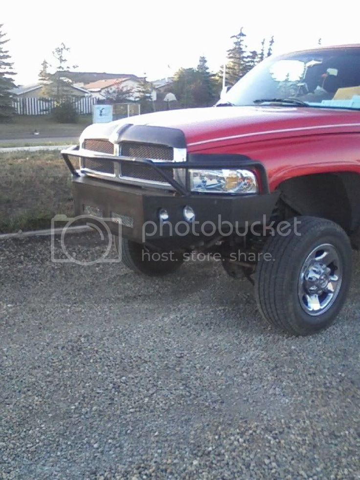 Build your own bumper plans dodge cummins diesel forum