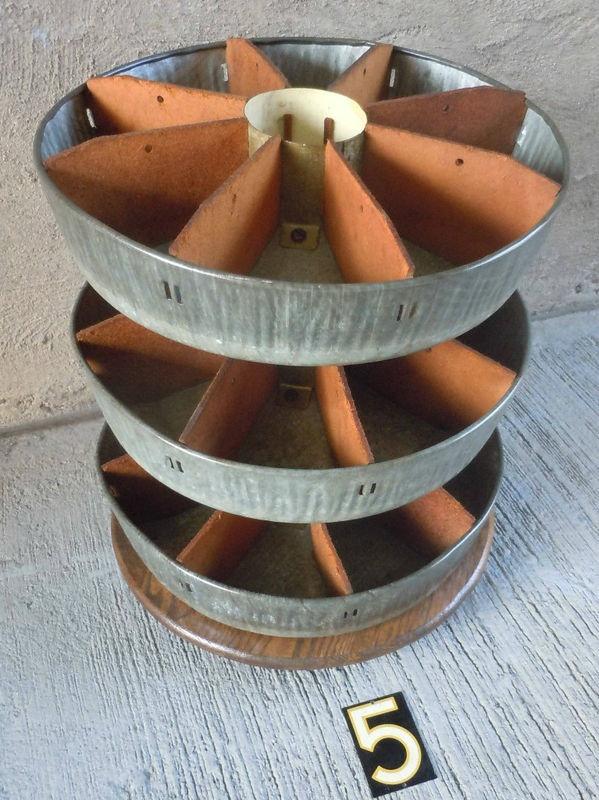 Galvanized Metal Lazy Susan Storage Bin Awesome Totally