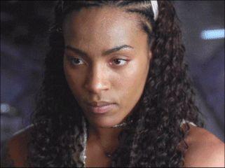 Nona Gaye in Matrix 2: Reloaded