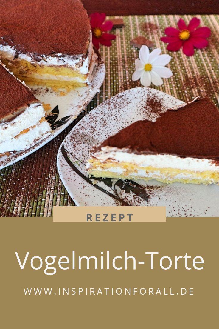Vogelmilchkuchen – köstliches Rezept für zarte russische Kuchen   – Leckere Rezepte von inspirationforall.de – einfach, schnell, besonders