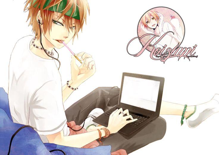 new anime guy | Anime boy Render by ~lKoizumil on deviantART