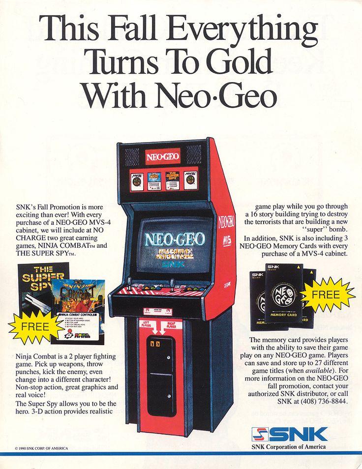 Neo Geo Gold Card