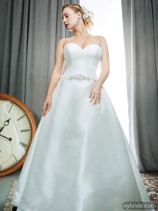 Plus Size Wedding Dresses New York Bride Groom 4618 South