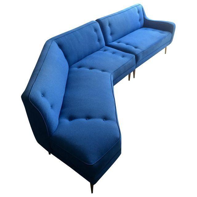 Sofa Cover Image of Mid Century Modern u Sectional Sofa