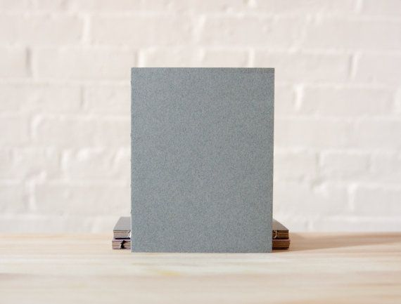 Small Grey Paper Cover Coptic Stitch  Journal  by knotbooks