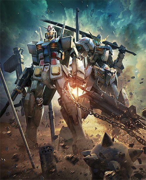 Gundam RX-78 & Gundam Barbatos