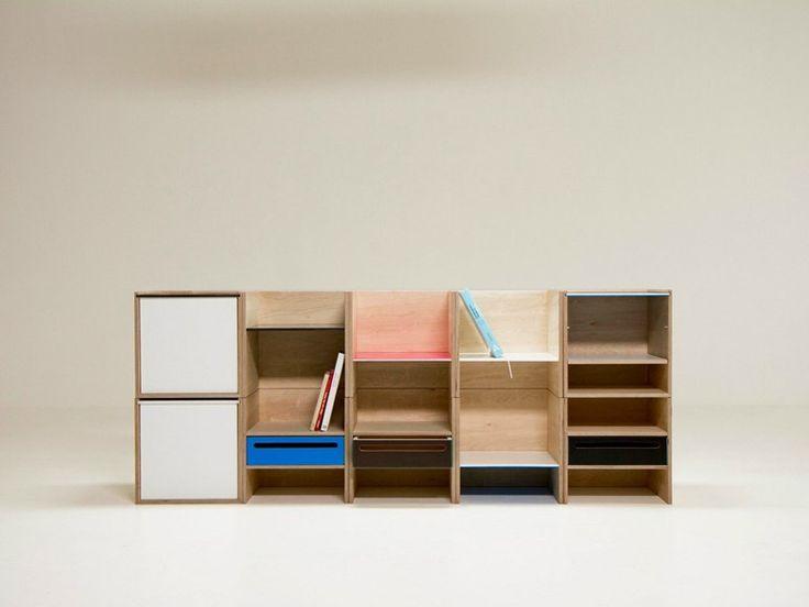 Best 25 plywood bookcase ideas on pinterest minimalist for Diy modular bookcase