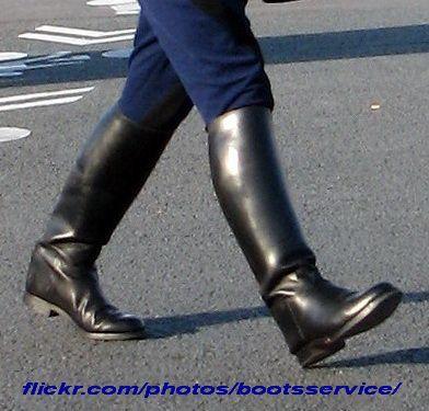 bottes Weston de cavalier de la Garde républicaine