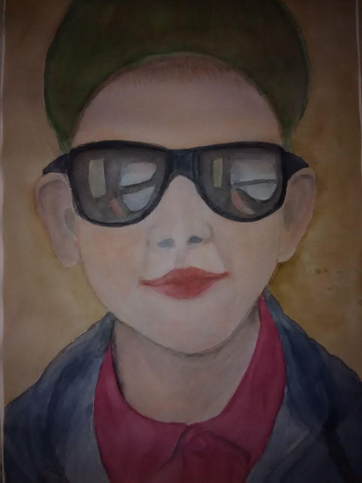 matej akvarel