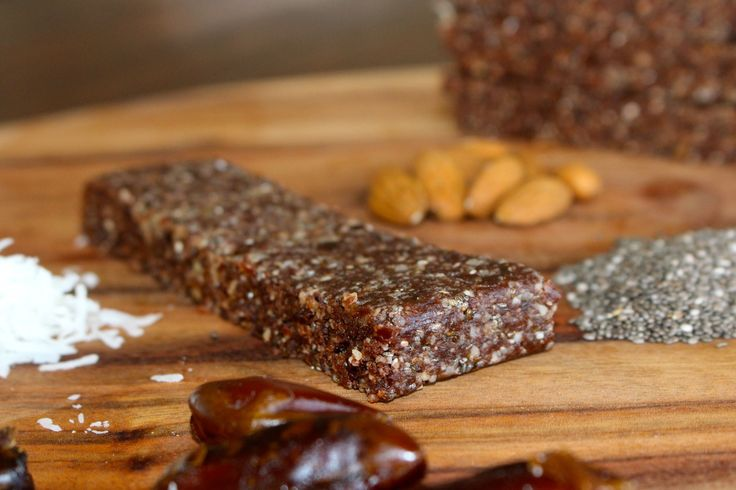 Cacao, Almond  Chia seed Slice #RealFoodPledge