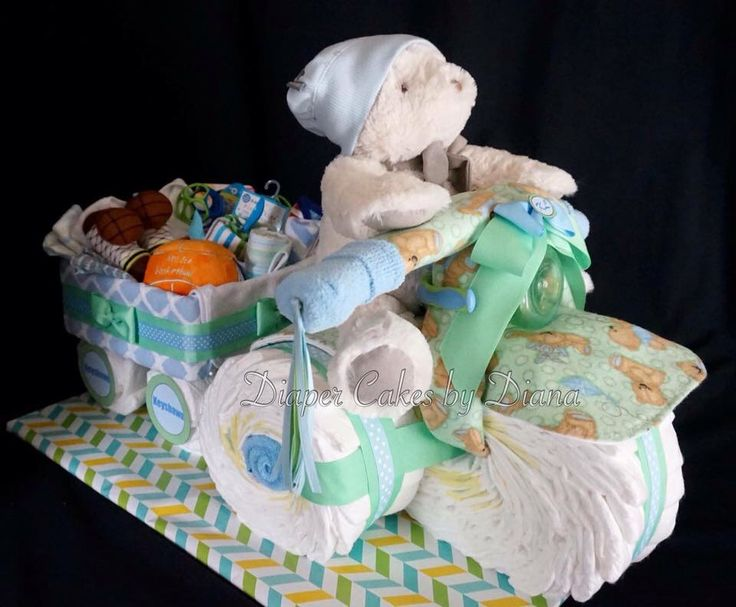 Welome Twins Saying For Diaper Cake