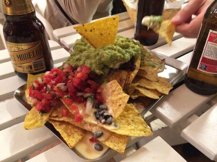 Tierra Burrito Bar- Nachos + burritos