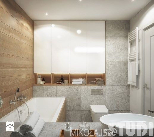 Aranżacje wnętrz - Łazienka: łazienka z wanną-projekt - MIKOŁAJSKAstudio. Przeglądaj, dodawaj i zapisuj najlepsze zdjęcia, pomysły i inspiracje designerskie. W bazie mamy już prawie milion fotografii!