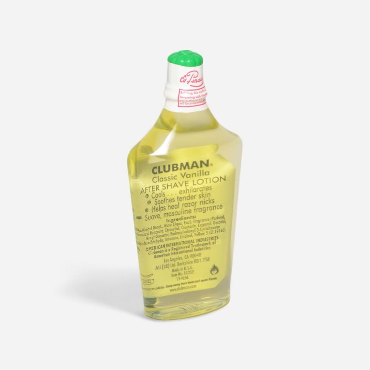 Pinaud Clubman: Classic Vanilla Aftershave Lotion