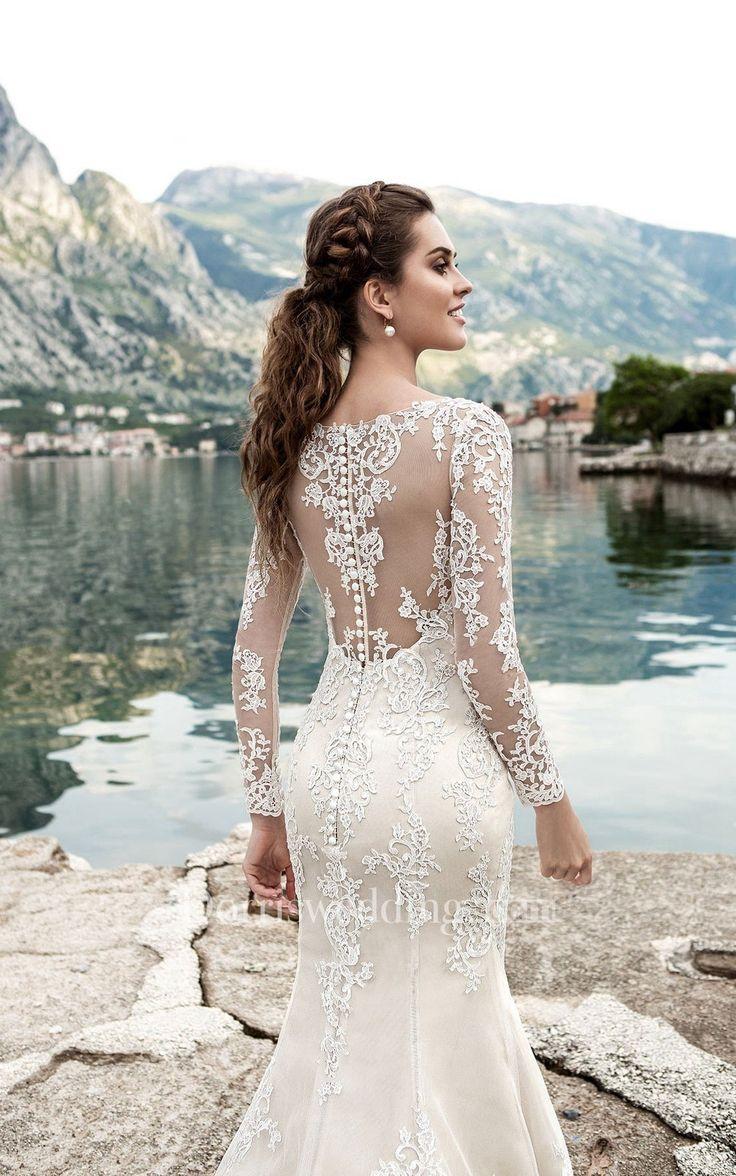 73 besten Backless Wedding Dresses Bilder auf Pinterest ...