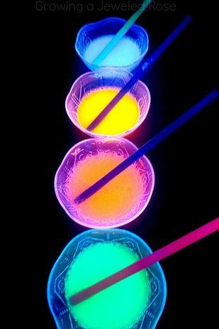 …Or mix up some glow in the dark bubbles. | 39 Slumber Party Ideas To Help You Throw The Best Sleepover Ever
