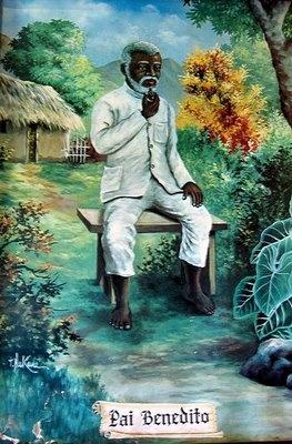 Preto velho - Pai Benedito - ilustrador desconhecido / não identificado