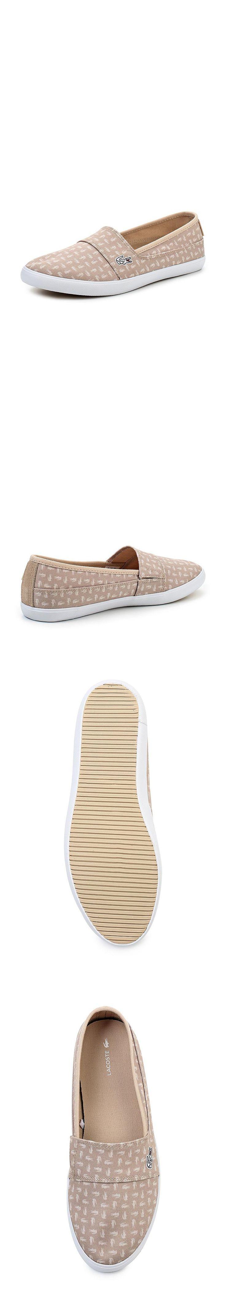 Женская обувь слипоны Lacoste за 5240.00 руб.