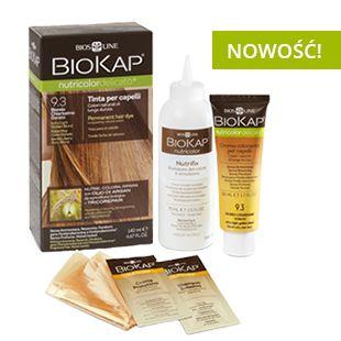 NOWOŚĆ! Farba do włosów Biokap Delicato+ #biokap