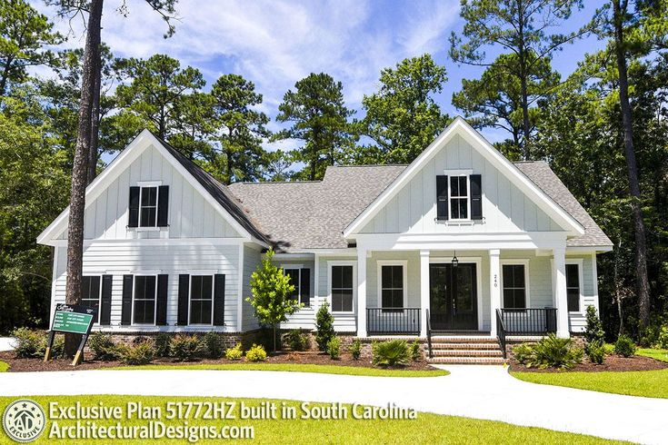 Plan 51772HZ: Exclusive Farmhouse with Bonus Room …
