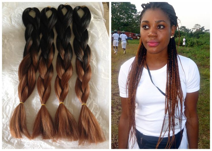 Brown To Light Brown Ombre Box Braid Google Search