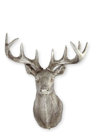 Buy Silver Stag Head from the Next UK online shop