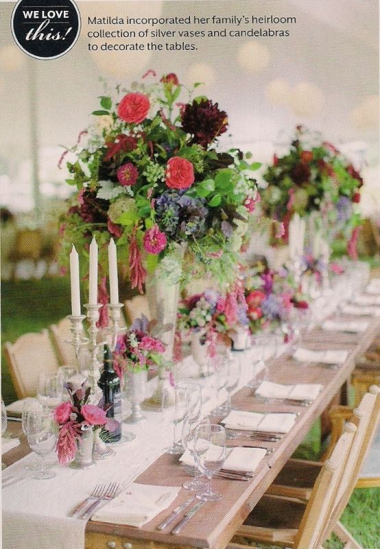 Beautiful Wedding Decorations, Centerpieces, Dresses And Ideas