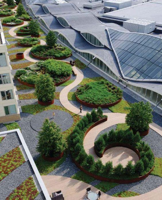 Nouvelle at Natick, by  Martha Schwartz Partners, Natick (MA), USA. #landarch #landscape #architecture: