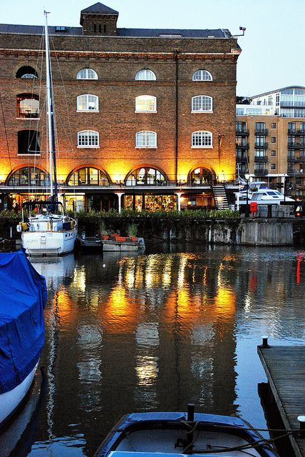 St. Katharine´s Docks, London (next to Tower Bridge and the Tower of London)