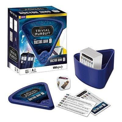 Doctor Who Trivial Pursuit Game Quiz Science Fiction Toy All Ages NIB USAopoly