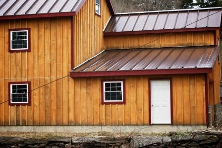 Best Pine Or Hemlock Batton Siding For The Bioshelter Or A 400 x 300