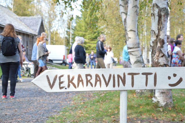 Vekaravintiltä löytyy hauskaa puuhaa lapsille. Luuppi, Oulu (Finland)