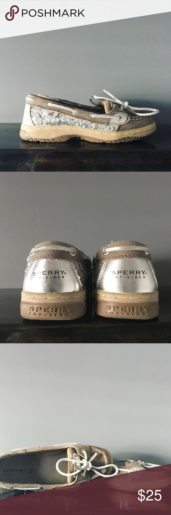 Sperry Top- Sider Shoes Sparkle and shine in these excellent condition Sperry shoes!! Sperry Top-Sider Shoes