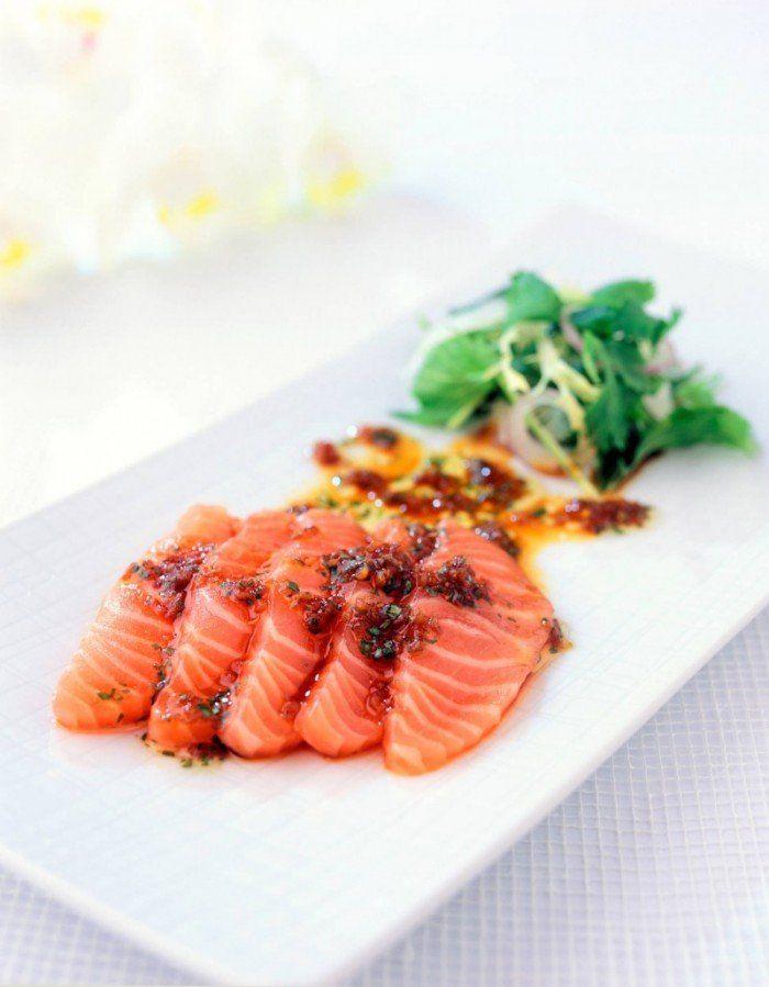 Asiatisk sashimi