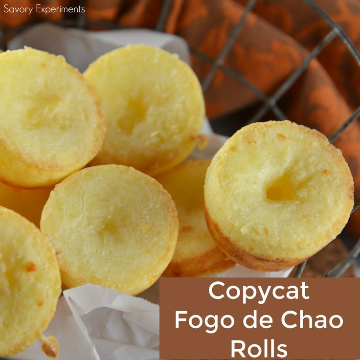 Fogo de Chao Rolls, also known as Brazilian cheese puff bread, are easier to make at home than you think! This gluten-free bread is also yeast free and only takes 30 minutes!