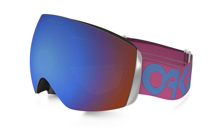 Oakley Flight Deck XM Ski Goggles - Factory Pilot - Pink Blue / Prizm Sapphire Iridium - RxSport