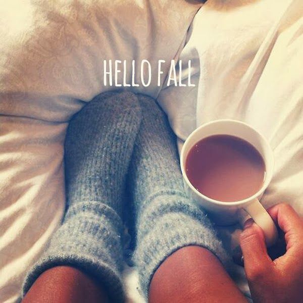 hello fall | The Sweet Escape #autum #cozy