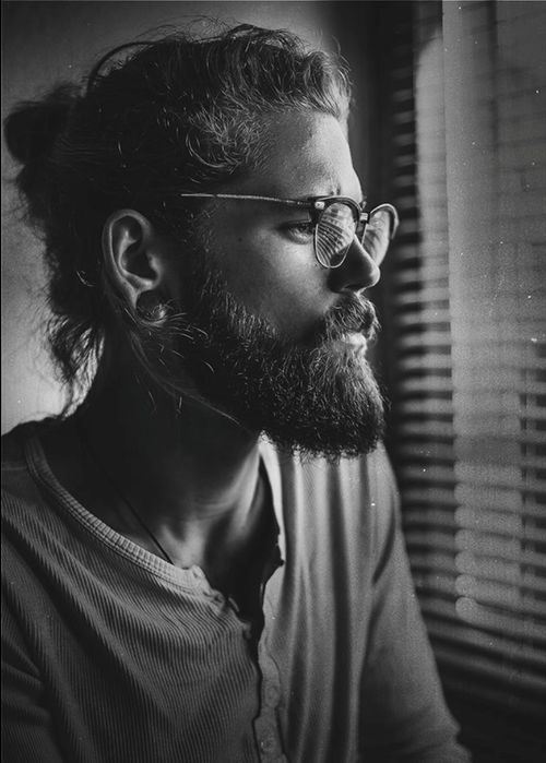 beardbrand:  Casual in a henley