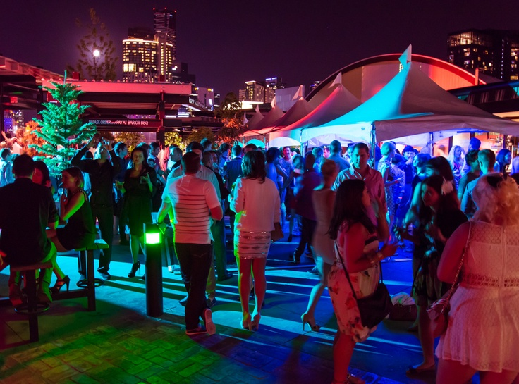 The Boatbuilders Yard - Melbourne - South Wharf - NYE 2012 - Outdoor Bar