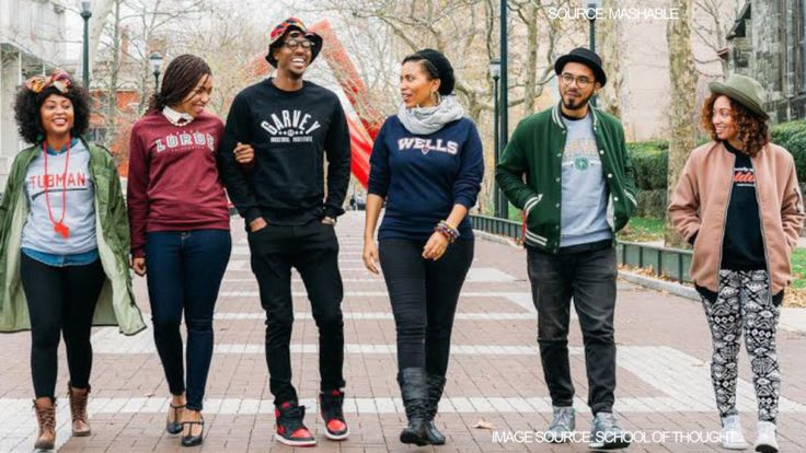 "New Clothing Line Imagines Colleges Named After Famous Black Leaders & Influencers | A new sweatshirt collection depicts a world where ""higher education celebrates Black voices and histories."""