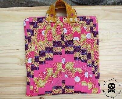The 101 Best Quilted Handbag Patterns Images On Pinterest Sew Bags